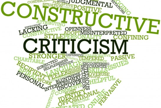 The Fine Art of Constructive Criticism