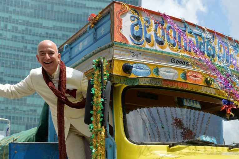 Amazon in Indian grassroots after 4 years ofexcellent PR