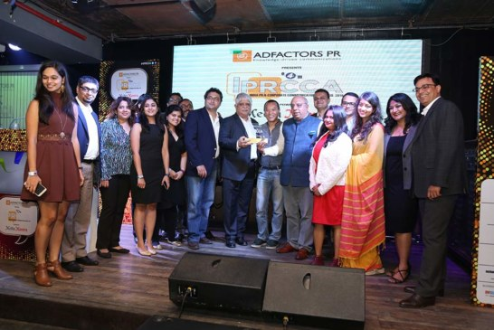 Adfactors PR is PR Awards Asia's South Asia Agency of the Year 2017