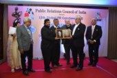 Barun Jha of PTI, Adfactors' Madan Bahal,  win top honours at PRCI Global Conclave