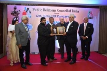 Barun Jha of PTI, Adfactors' Madan Bahal,  win top honours at PRCI Global Conclave