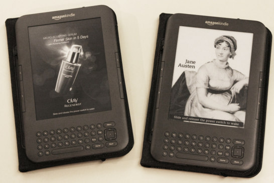 How is Amazon Kindle with ads doing in the digital marketing domain?
