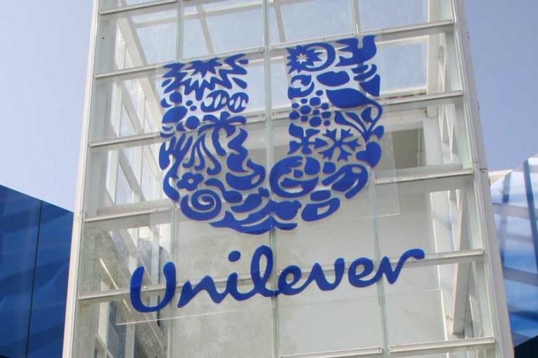 Unilever's stand