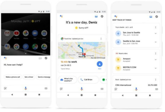Google Assistant Digital Marketing Update Adds Visual Walkthrough of an Entire Day