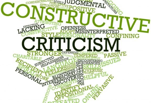 The Fine Art of Constructive Criticism