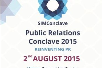 PR Conclave at SIMC Pune on Sunday 2nd August 2015