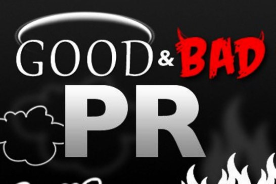 Is bad public relations good PR in reality?