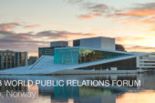2018 World Public Relations Forum held in April spoke of truth, profit, and intelligence!