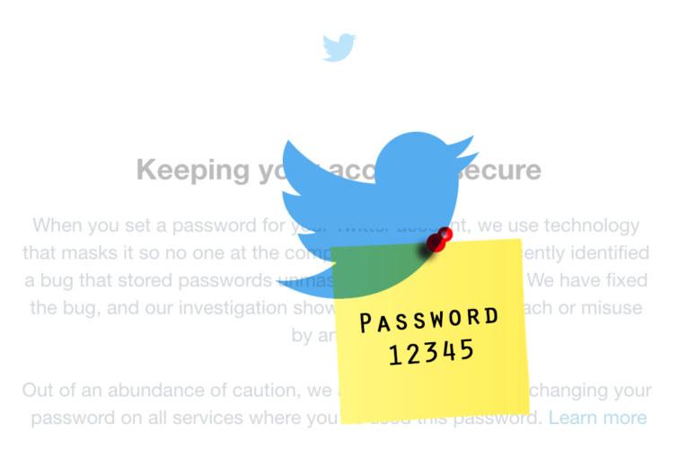 Twitter advises users to change passwords